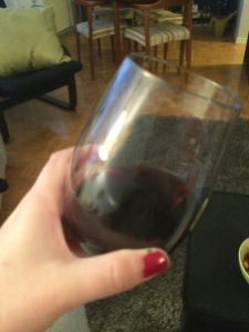 Yep, looks like red wine...