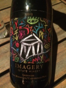 Such cool artwork on the label. Click the pic for more info on this winery's labels.