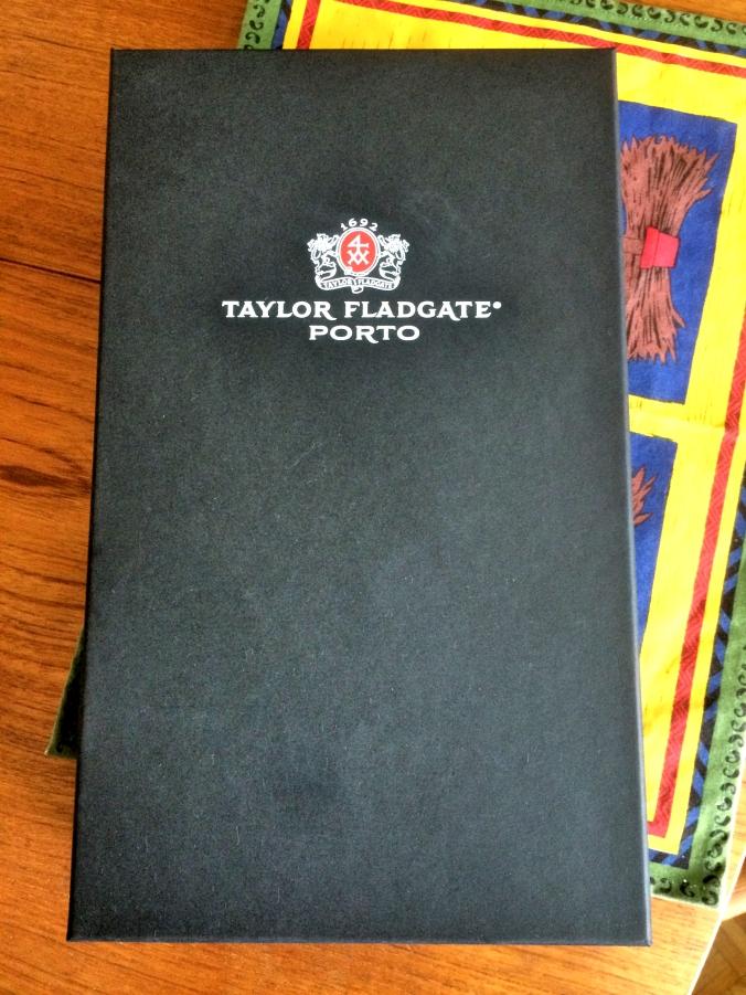 Taylor Fladgate port gift set