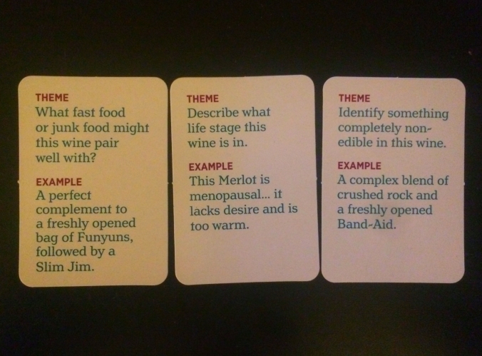 Uncorked theme cards